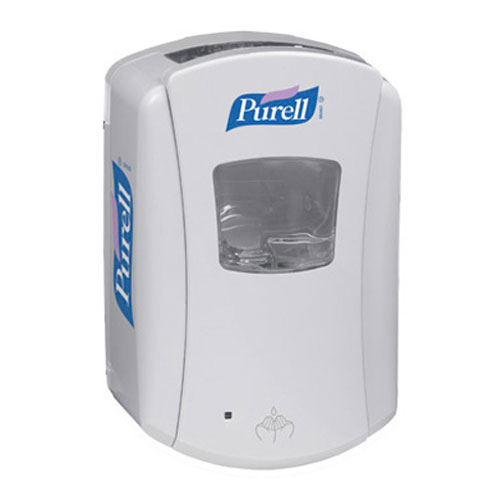 Purell LTX-7 Hand Sanitizer Touch-Free Dispenser 700ml White SKU#GOJ1320-04, GOJO Purell LTX-7 Hand Sanitizer Touch-Free Dispenser 700ml White SKU#GOJ1320-04