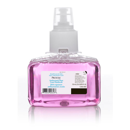 Provon Antibacterial Foam Soap 700ml Plum SKU#GOJ1346-03, GOJO Provon Antibacterial Foam Soap 700ml Plum SKU#GOJ1346-03