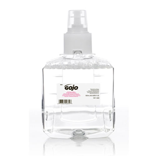 LTX Clear-Mild Foam Soap 1200ml SKU#GOJ1911-02, GOJO LTX Clear-Mild Foam Soap 1200ml SKU#GOJ1911-02