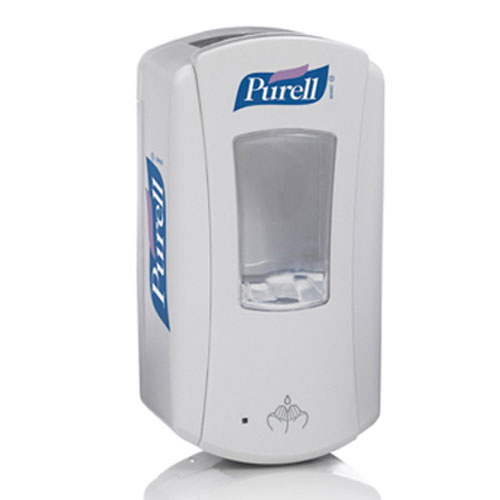 Purell LTX-12 Hand Sanitizer Touch-Free Dispenser 1200ml White SKU#GOJ1920-04, GOJO Purell LTX-12 Hand Sanitizer Touch-Free Dispenser 1200ml White SKU#GOJ1920-04