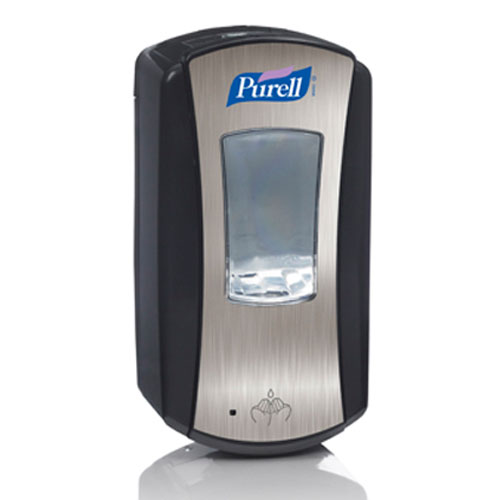 Purell LTX-12 Hand Sanitizer Touch-Free Dispenser 1200ml Chrome SKU#GOJ1928-04, GOJO Purell LTX-12 Hand Sanitizer Touch-Free Dispenser 1200ml Chrome SKU#GOJ1928-04