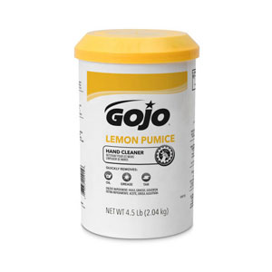 GOJO Lemon Pumice Hand Cleaner Cartridge Refill SKU#GOJ0915-06, GOJO Lemon Pumice Hand Cleaner 4.5lb Plastic Cartridge Refill SKU#GOJ0915-06