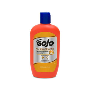 GOJO NATURAL ORANGE Smooth Hand Cleaner 14floz SKU#GOJ0947-12, GOJO NATURAL ORANGE Smooth Hand Cleaner 14floz Bottle SKU#GOJ0947-12