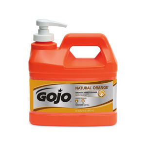 GOJO NATURAL ORANGE Smooth Hand Cleaner SKU#GOJ0948-04, GOJO NATURAL ORANGE Smooth Hand Cleaner .5Gal w Pump Dispenser SKU#GOJ0948-04