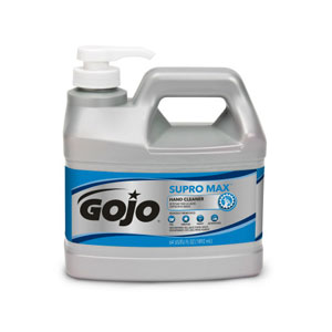 GOJO SUPRO MAX Hand Cleaner SKU#GOJ0972-04, GOJO SUPRO MAX Hand Cleaner .5Gal w Pump Dispenser SKU#GOJ0972-04