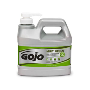 GOJO MULTI GREEN ECO Hand Cleaner SKU#GOJ0989-04, GOJO MULTI GREEN ECO Hand Cleaner .5Gal w Pump Dispenser SKU#GOJ0989-04