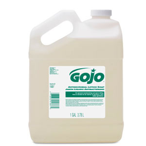 GOJO Antimicrobial Lotion Soap Bulk Pour Gal SKU#GOJ1887-04, GOJO Antimicrobial Lotion Soap Bulk Pour Gal SKU#GOJ1887-04