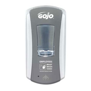 GOJO LTX-12 Dispenser w Foodservice Messaging SKU#GOJ1984-04-EMPWSH, GOJO LTX-12 Dispenser w Foodservice Messaging SKU#GOJ1984-04-EMPWSH