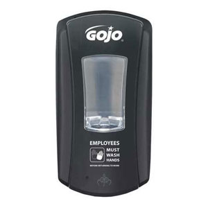 GOJO LTX-12 Dispenser w Foodservice Messaging SKU#GOJ1986-04-EMPWSH, GOJO LTX-12 Dispenser w Foodservice Messaging SKU#GOJ1986-04-EMPWSH