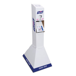 PURELL Advanced Instant Hand Sanitizer NXT Kit SKU#GOJ2156-DS, GOJO PURELL Advanced Instant Hand Sanitizer NXT Kit (Floor Stand/2 Refill) SKU#GOJ2156-DS