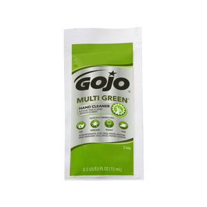 GOJO MULTI GREEN Hand Cleaner Packets 40ct SKU#GOJ2340-01, GOJO MULTI GREEN Hand Cleaner 0.5floz Packets 40ct Case SKU#GOJ2340-01
