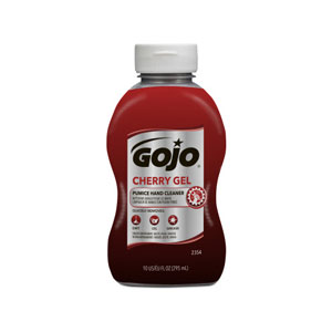 GOJO Cherry Gel Pumice Hand Cleaner 10floz Squeeze Bottle SKU#GOJ2354-08, GOJO Cherry Gel Pumice Hand Cleaner 10floz Squeeze Bottle SKU#GOJ2354-08