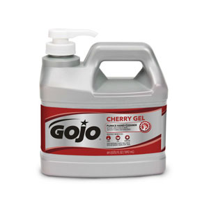 GOJO Cherry Gel Pumice Hand Cleaner SKU#GOJ2356-04, GOJO Cherry Gel Pumice Hand Cleaner .5Gal w Pump Dispenser SKU#GOJ2356-04