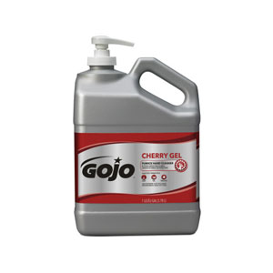 GOJO Cherry Gel Pumice Hand Cleaner 1Gal SKU#GOJ2358-02, GOJO Cherry Gel Pumice Hand Cleaner 1Gal w Pump Dispenser SKU#GOJ2358-02