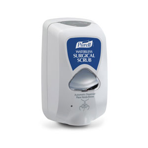 PURELL Waterless Surgical Scrub TFX Touch Free Dispenser For 5483 & 5485 Refills SKU#GOJ2785-12, GOJO PURELL Waterless Surgical Scrub TFX Touch Free Dispenser For 5483 & 5485 Refills SKU#GOJ2785-12