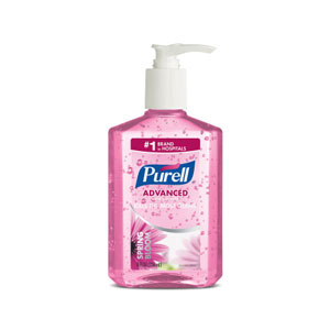 PURELL Instant Hand Sanitizer Pink Spring Bloom 8floz Pump Bottle SKU#GOJ3014-12, GOJO PURELL Instant Hand Sanitizer Pink Spring Bloom 8floz Pump Bottle SKU#GOJ3014-12