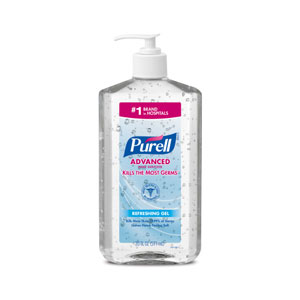 PURELL Advanced Instant Hand Sanitizer 20floz Pump Bottle SKU#GOJ3023-12, GOJO PURELL Advanced Instant Hand Sanitizer 20floz Pump Bottle SKU#GOJ3023-12