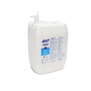 PURELL Food Processing Surface Sanitizer 5Gal RTU Carboy w Spigot SKU#GOJ3543-01, GOJO PURELL Food Processing Surface Sanitizer 5Gal RTU Carboy w Spigot SKU#GOJ3543-01