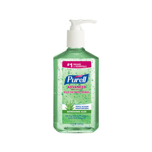 PURELL Advanced Instant Hand Sanitizer w Aloe 12floz Pump Bottle SKU#GOJ3639-12, GOJO PURELL Advanced Instant Hand Sanitizer w Aloe 12floz Pump Bottle SKU#GOJ3639-12
