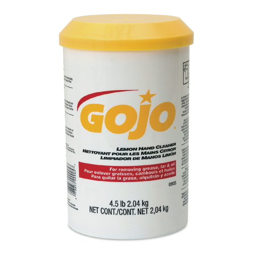 GoJo Lemon Hand Cleaner Creme SKU#GOJ0905-06, GoJo Lemon Hand Cleaner (Creme) SKU#GOJ0905-06