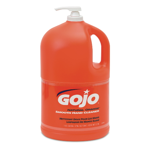 GoJo NATURALORANGE Smoothe Hand Cleaner Lotion SKU#GOJ0945-04, GoJo NATURALORANGE Smoothe Hand Cleaner (lotion) SKU#GOJ0945-04