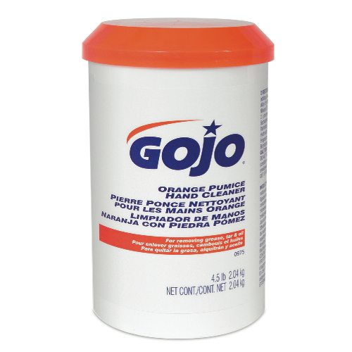 GoJo ORANGE Pumice Hand Cleaner Creme SKU#GOJ0975-06, GoJo ORANGE Pumice Hand Cleaner (Creme) SKU#GOJ0975-06