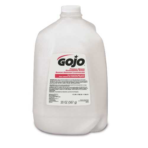 GoJo Freeze Dried Scrubbing Soaps SKU#GOJ2015-06, GoJo Freeze Dried Scrubbing Soap SKU#GOJ2015-06