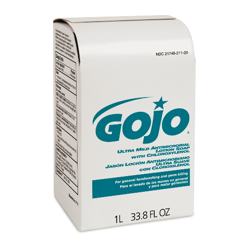GoJo Ultra Mild Antimicrobial Lotion Soaps SKU#GOJ2112-08, GoJo Ultra Mild Antimicrobial Lotion Soap SKU#GOJ2112-08