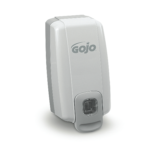 GoJo NXT 1000-ml SPACE SAVER Dispensers White-Gray SKU#GOJ2130-06, GoJo NXT 1000-ml SPACE SAVER Dispenser White-Gray SKU#GOJ2130-06