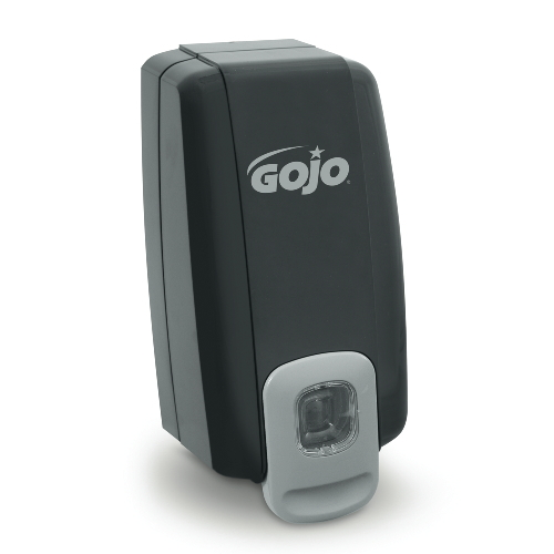 GoJo NXT 1000-ml SPACE SAVER Dispensers Black-Gray SKU#GOJ2135, GoJo NXT 1000-ml SPACE SAVER Dispenser Black-Gray SKU#GOJ2135