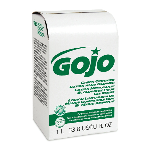 GoJo Green Certified Lotion Hand Cleaners SKU#GOJ2165-08, GoJo Green Certified Lotion Hand Cleaner SKU#GOJ2165-08