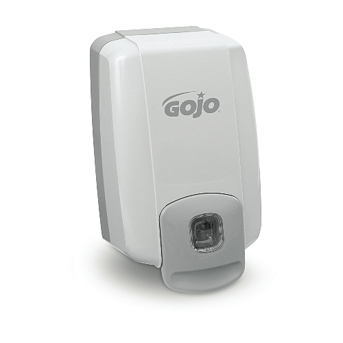 GoJo NXT 2000-ml MAXIMUM CAPACITY Dispensers White-Gray SKU#GOJ2230-08, GoJo NXT 2000-ml MAXIMUM CAPACITY Dispenser White-Gray SKU#GOJ2230-08