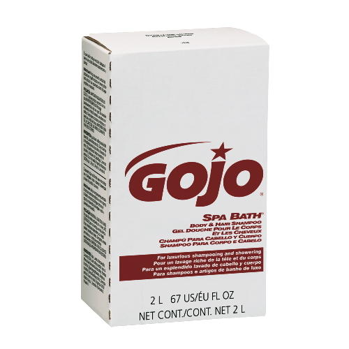 GoJo SPA BATH Body & Hair Shampoo SKU#GOJ2252-04, GoJo SPA BATH Body & Hair Shampoo SKU#GOJ2252-04