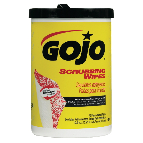 GoJo Scrubbing Wipes SKU#GOJ6396-06, GoJo Scrubbing Wipes SKU#GOJ6396-06