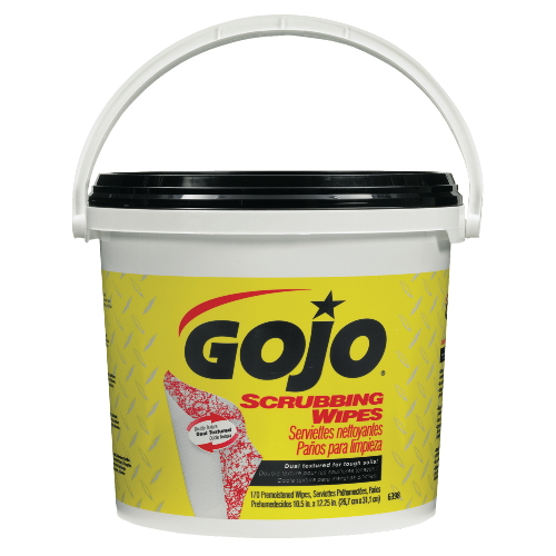 GoJo Scrubbing Wipes SKU#GOJ6398-02, GoJo Scrubbing Wipes SKU#GOJ6398-02
