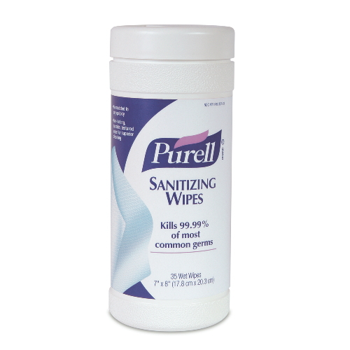 GoJo PURELL Sanitizing Wipes SKU#GOJ9010-06, GoJo PURELL Sanitizing Wipes SKU#GOJ9010-06