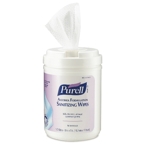 GoJo PURELL Alcohol Formulation Sanitizing Wipes SKU#GOJ9031-06, GoJo PURELL Alcohol Formulation Sanitizing Wipes SKU#GOJ9031-06