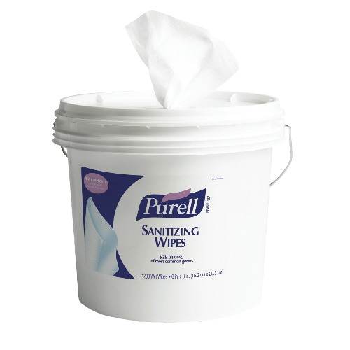 GoJo PURELL Sanitizing Wipes SKU#GOJ9117-01, GoJo PURELL Sanitizing Wipes SKU#GOJ9117-01
