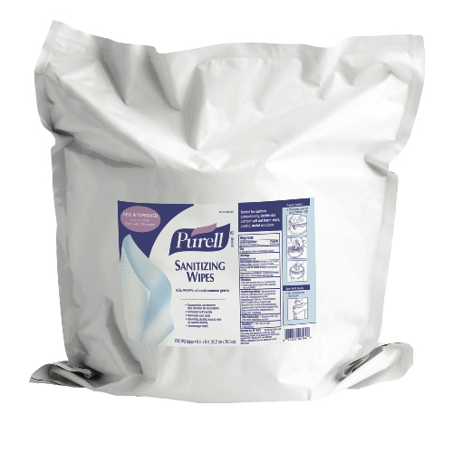 GoJo PURELL Sanitizing Wipes SKU#GOJ9118-02, GoJo PURELL Sanitizing Wipes SKU#GOJ9118-02