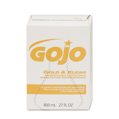GoJo Gold & Klean Antimicrobial Lotion Soaps SKU#GOJ9127-12, GoJo Gold & Klean Antimicrobial Lotion Soap SKU#GOJ9127-12