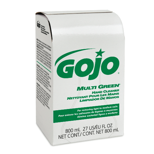 GoJo MULTI GREEN Hand Cleaners SKU#GOJ9172-12, GoJo MULTI GREEN Hand Cleaner SKU#GOJ9172-12