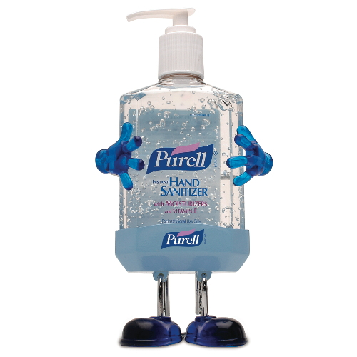 GoJo PURELL Pal Desktop Dispensers SKU#GOJ9600-PL1, GoJo PURELL Pal Desktop Dispenser SKU#GOJ9600-PL1