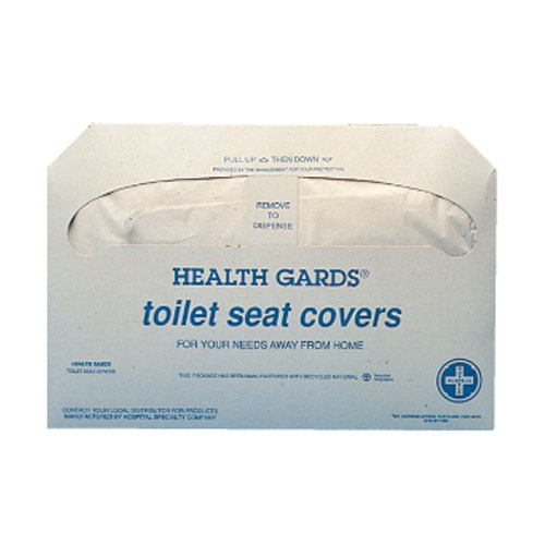 Hospeco Health Gards Toilet Seat Cover SKU#HOSHG-2500, Hospeco Health Gards Toilet Seat Covers SKU#HOSHG-5000