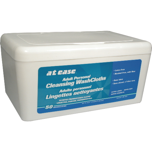 Hospeco At Ease Adult Personal Pre-Moistened Wipes SKU#HOSHS3821, Hospeco At Ease Adult Personal Pre-Moistened Wipes SKU#HOSHS3821