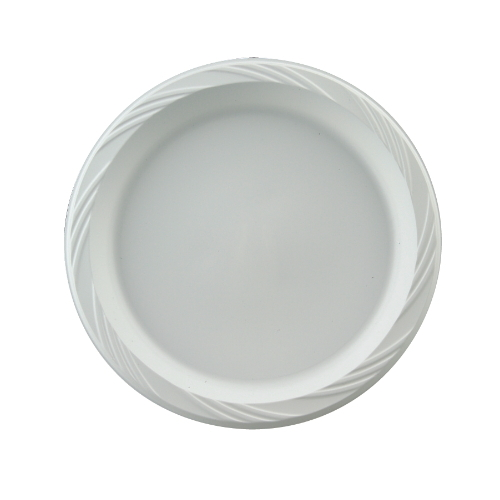 Huhtamaki Chinet Light Weight Plastic Tableware Plate SKU#HUH82206, Huhtamaki Chinet Light Weight Plastic Tableware Plate SKU#HUH82206