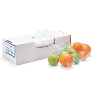 12x12in 0.75 Mil Clear Food-Utility Bags SKU#HER F1212RC, Heritage Bags 12x12in 0.75 Mil Clear Food-Utility Bags SKU#HERF1212RC