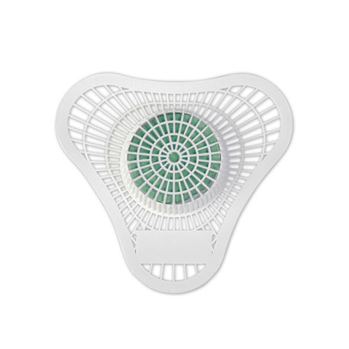 Hospeco Health Gards Green Apple Non-Para Urinal Screens SKU#HOS-01902, Hospeco Health Gards Green Apple Non-Para Urinal Screens SKU#HOS-01902