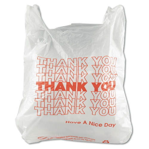 Inteplast Thank You Bag SKU#IBSTHW1VAL, Inteplast Thank You Bags SKU#IBSTHW1VAL