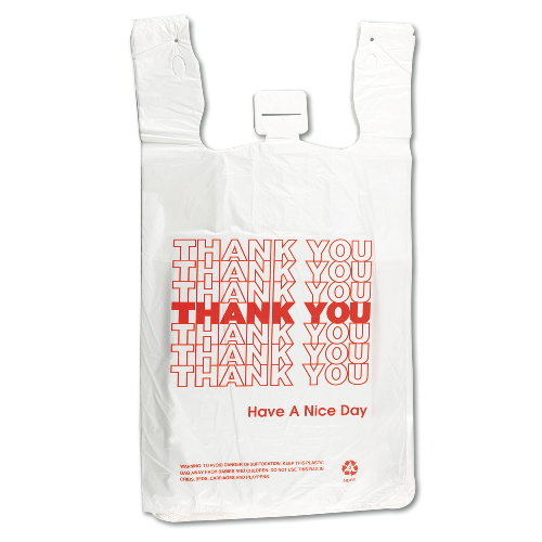 Inteplast Thank You Bag SKU#IBSTHW2VAL, Inteplast Thank You Bags SKU#IBSTHW2VAL