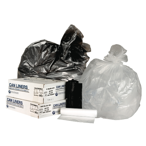 Inteplast Commercial Coreless 55 To 60 Gal Roll Can Liner Value Pack SKU#IBSVALH4348N12, Inteplast Commercial Coreless 55 To 60 Gallon Roll Can Liners Value Packs SKU#IBSVALH4348N12